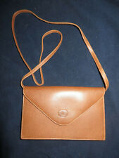 ESTATE FRESH VINTAGE VALENTINO GARAVANI TAN / BROWN OVER SHOULDER PURSE / CLUTCH