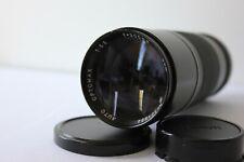 Optomax Canon FD Mount 300mm f5.5 Telephoto Prime Lens AE-1 A-1 AV-1 F-1 ETC