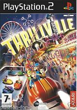 THRILLVILLE for Playstation 2 PS2 - with box & manual - PAL