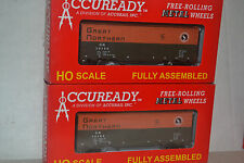 2 Accurail Great Northern 40' Steel AAR Boxcar Ho Scale