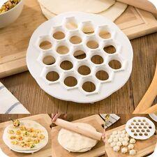 19 agujeros Magic Dumpling Molde Maker albóndigas haciendo Máquina de Cocina Herramienta NUEVO