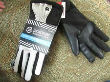 NEW ISOTONER SIGNATURE SMARTOUCH GLOVES WOMENS M/L PLATINUM LINED FREE SHIP