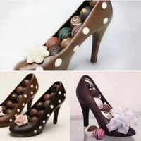 US 3D High Heel Shoe Type Chocolate Mold Candy Cookies Tool DIY Cake Maker Mould