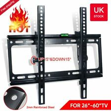 "TV Wall Mount Bracket Shelf Tilt Swivel Flat Plasma Ultra Slim LCD 26-60"" Inch"