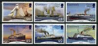 Guernsey Mail Ships Stamps 2020 MNH Ancient Postal Routes Europa Boats 6v Set