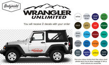 JEEP WRANGLER UNLIMITED Mountain decals
