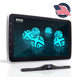 "Pyle PL2DN105 10.1"" Touch Screen In-Dash Double DIN Player with Back up Camera"