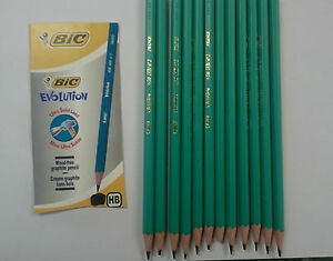 Bic Evolution Pencils Pack of 12 Eco Friendly Wood Free