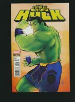 The Totally Awesome Hulk #2, Afua Richardson Variant Cover, High Grade