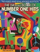 The Billboard Book of Number One Hits by Fred Bronson (Paperback)