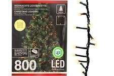 Lichterkette 800 LED 8 Funktionen innen U. außen Beleuchtung
