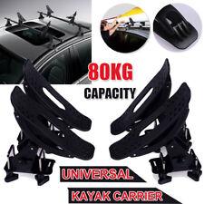 2 Pairs Universal Kayak Arm Roof Rack Canoe Boat Car Top Mount Carrier Holder