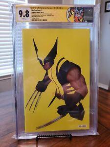 Wolverine 1 CGC 9.8 SS JTC Variant Custom Label
