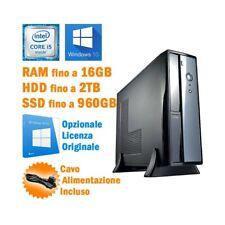 Computer Montiert Vultech i5 4570 Windows 10 HDMI 6X USB Desktop PC Neu