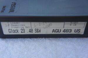 VINTAGE GLOCK TUPPERWARE BOX,,,,INCLUDES BARREL BRUSH,,NO RES,,FREE SHIP