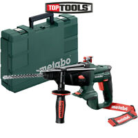 Metabo KHA18LTX 18v Cordless 3 function SDS Hammer Drill Body With Case