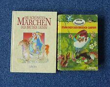 2 alte Märchenbücher - die schönsten Märchen der Gebrüder Grimm.