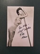 Rita Moreno-signed photo-71 - JSA COA