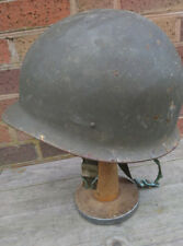 Vintage West German Bundeswehr M56 Helmet With Liner Etc