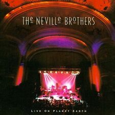 Live On Planet Earth (CD) The Neville Brothers 1994