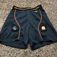 Shock Doctor 361 Core Boy's Compression Shorts Impact Protective Size Medium