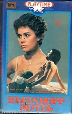 Kleinhoff Hotel (1977) VHS Playtime 1a Ed. Corinne Clery Michele Placido LIZZANI