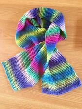 Ladies hand knitted scarf/shawl