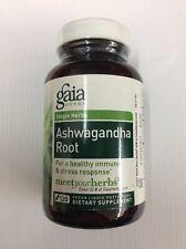 Gaia Herbs Single Herbs Ashwagandha Root 120 Vegan Liquid Phyto Caps EXP: 03/20