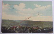 1913 POSTCARD OF BIRDS EYE VIEW OF WILMERDING PENNSYLVANIA