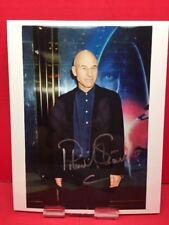Signed 8x10 Photo Print Patrick Stewart Star Trek TNG