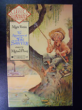 VINTAGE! Classics Illustrated #9-The Adventures of Tom Sawyer (1990)