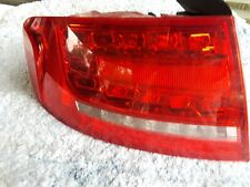 _ AUDI A4 S4  LH DRIVER SIDE LED TAIL LIGHT 09 10 11 12 2009 2010 2011 2012 OEM