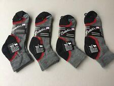 New Men's Ballston 70% Merino Wool Blend Ankle Socks 4 Pair Multi #1055L