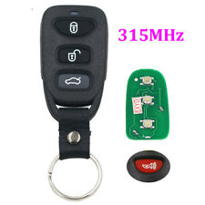 Remote Key 315MHz fit for Hyundai Keyless Fob 3 Button + Panic 3+1 BTN