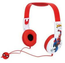 NEW Marvel Spider-Man Kid Safe Headphones Volume Limiting Tech Ages 6+ NIB