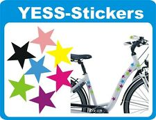 Stickers Stars Star 180pcs. in any two colors Self Adhesive for bike helmet