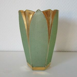 Art Deco Vase in Tulpenform gemarkt Cristalor France um 1920/1930 - 2862/2029