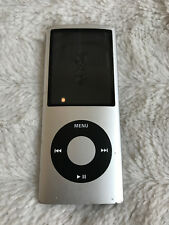 Apple iPod Nano 4th Generation 8GB (A1285) Silver AS IS - BAD BATTERY
