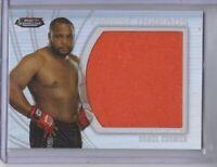 2012 Finest UFC Finest Threads Jumbo Fighter Relics Card #JFTDC Daniel Cormier