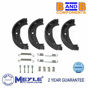 BMW HANDBRAKE PARKING SHOES & FITTING KIT E36 & Z3 MEYLE A1208