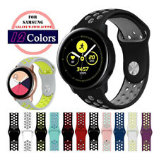 B# Silicone Sport Watch Band Strap For Samsung Galaxy Watch Active2 40mm 44mm
