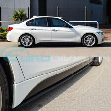 BMW 3 Series F30 Sedan M Performance Side Skirt Extension M-Sport Fitment