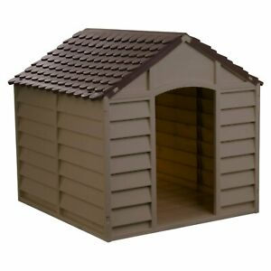 Best Small Dog House Insulated Shelter Big Outdoor Kennel 100 lb Pet Extra NEW