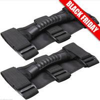 Durable Roll Bar Grab Handle Handles Black (PAIR) for Jeep Wrangler CJ YJ TJ JK