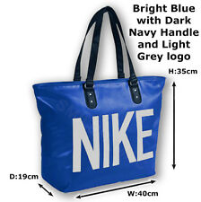 320915e3e6aaf Nike Heritage Blue Tote Shopping Ladies Sports Gym Bag
