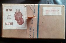 "Box Of Vintage Retro Castors - used, small 1.5"" x 8"