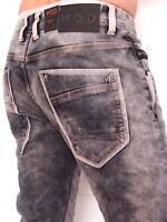 M.O.D MOD Jeans Herrenjeans Carl regular stretch grau Gr. von 29/32 bis 38/32