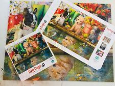 Buffalo Dog Days Puppy Dreams 750 Piece Jigsaw Puzzle 24 x 18 - FREE SHIPPING!