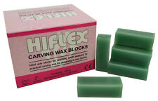Green Carving Wax Blocks, 200g Jewellers or Dental Lab Supplies