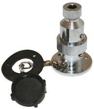 12/ 24 Volt 2 Pin 3 Amp Electrical Plug & Caravan Boat Marine Socket
